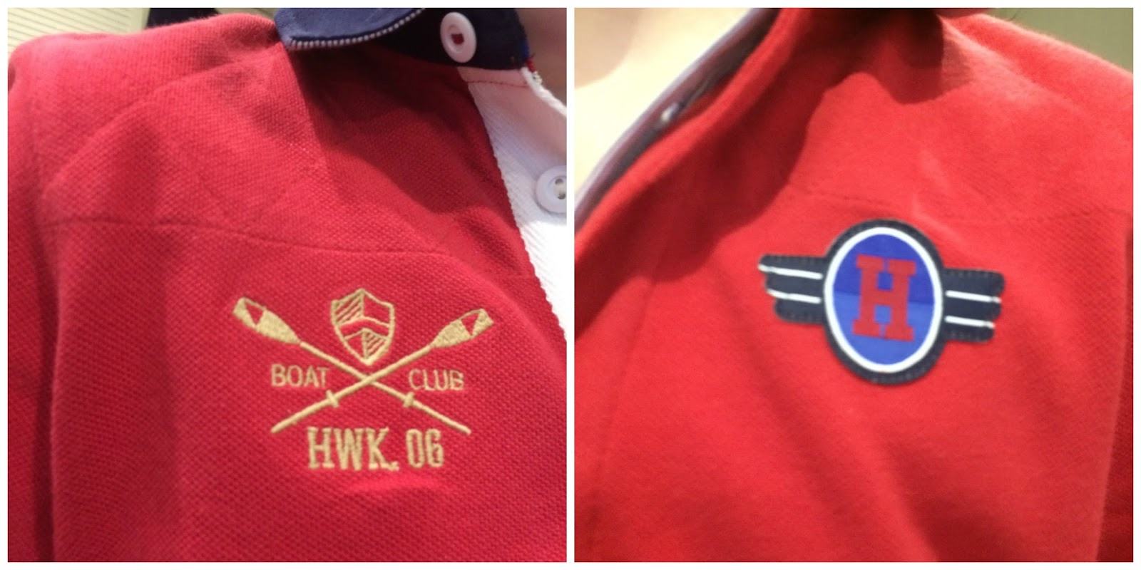 Detailing on Howick Junior Polo