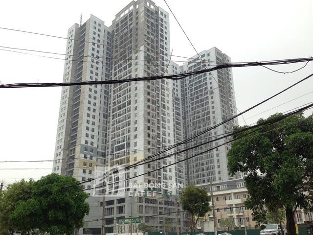 Tiến độ xây dựng chung cư Goldsilk Complex
