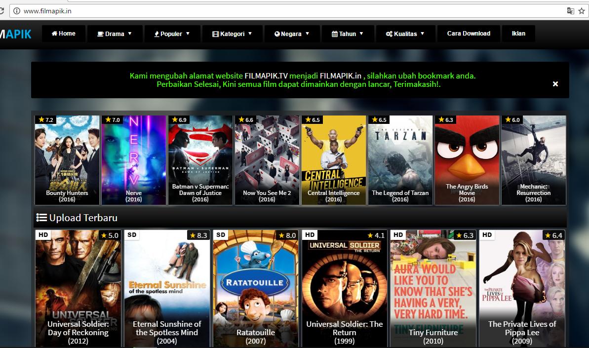 Website Nonton Film Online filmapik