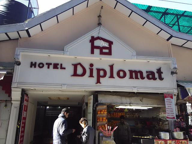 hotel diplomat shimla