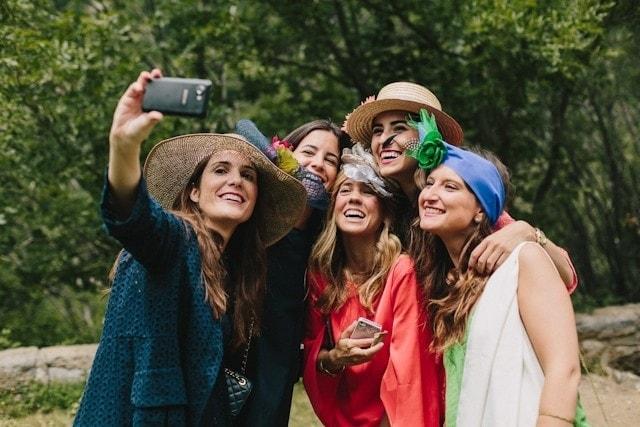 selfie boda invitados wedding blog