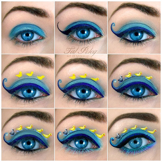 21-The-Ugly-Duckling-WIP-Tal-Peleg-Body-Painting-and-Eye-Make-Up-Art-www-designstack-co