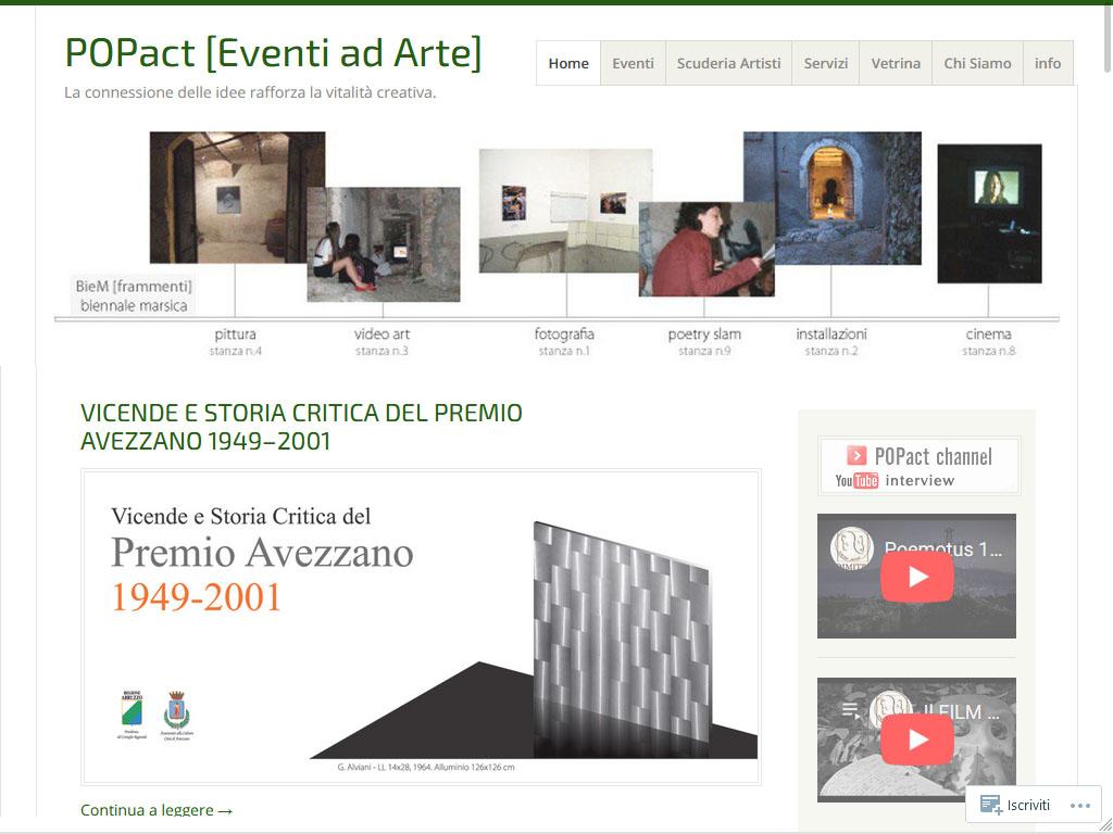 POPact - Eventi ad arte