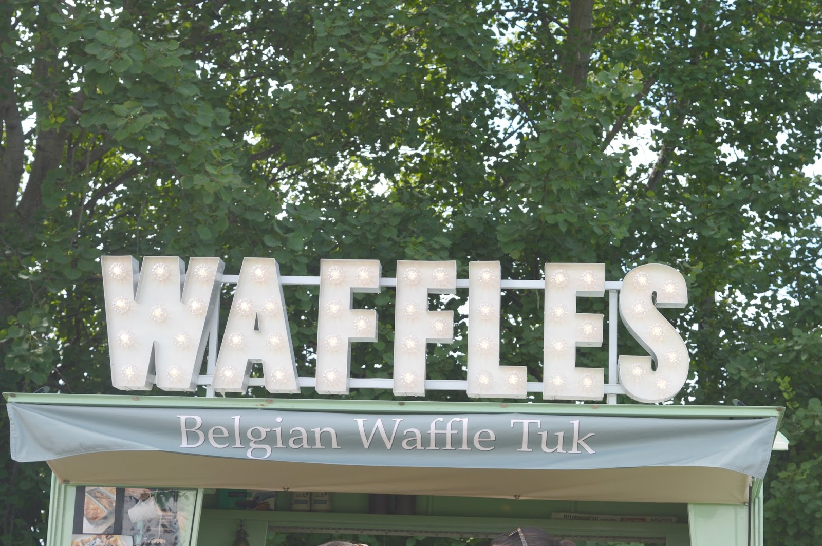 The Foodies Festival - Waffles