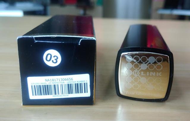 warna emas lipstik untuk bibir hitam