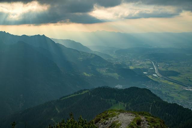 Wanderung auf die Mondspitze  Brandnertal Bürserberg  Wanderparkplatz Tschengla  Alpe Rona  Alpe Furkla 09