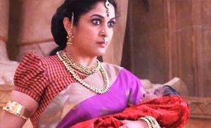 Ramya Krishna as SIVAGAMI   Baahubali – The Beginning