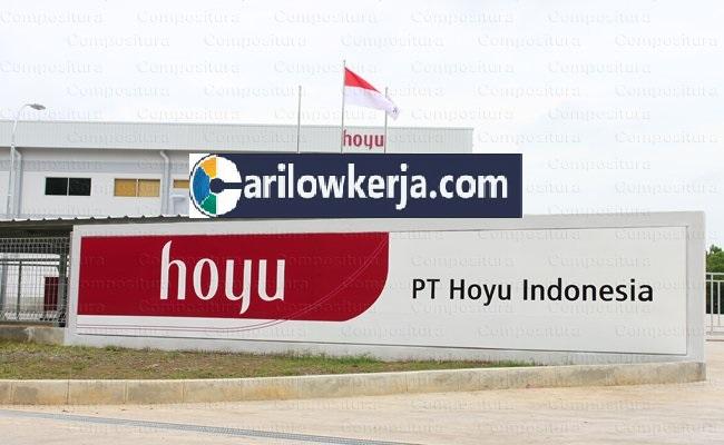 INFO Lowongan Kerja Bulan Oktober dan November 2017 Untuk PT Hoyu Indonesia