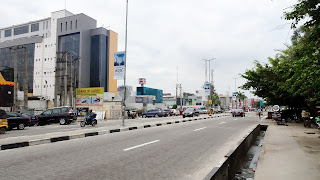 It is the main business and financial centre of Lagos
