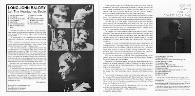 Long John Baldry - Let Heartaches Begin(1967) & Wait For Me(1969)