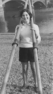 Ladies' rowing kit (1954)