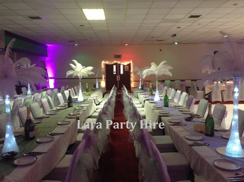 Lara party hire beautiful wedding innisfail gaa club for Decor 4 hire