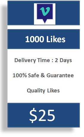 1000 Vimeo Likes