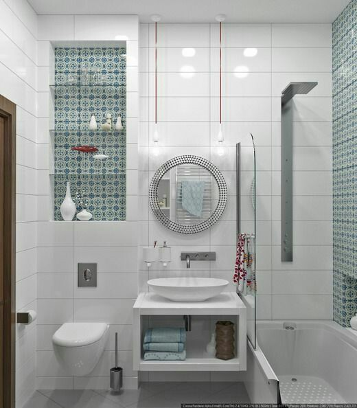 A small bathroom can be decorated to be stunning to make if difference. In decorating small bathroom it can be a little bit challenging because you have to think how you can work and a small space and what kind of design you will apply. Don't look at the size of your bathroom always focus on how you decorate.  But if you want to meet your ideal design you have to adapt it to your life style.
