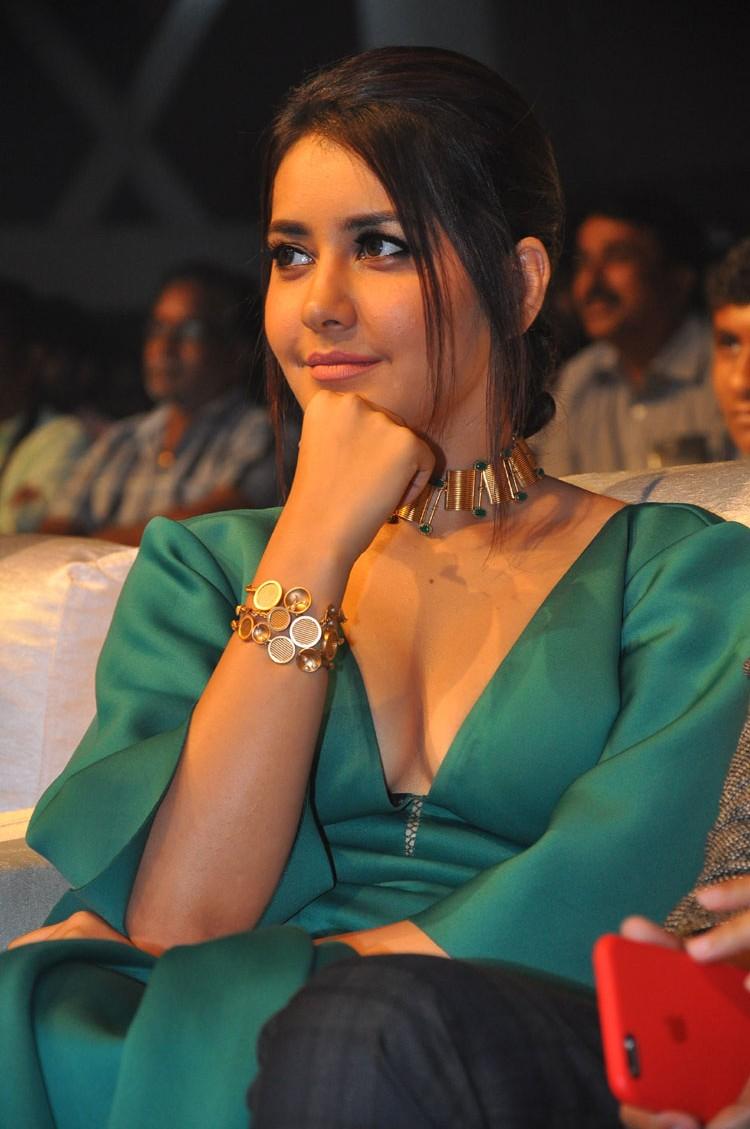entertainment wall: raashi khanna hot photos at hyper movie audio launch