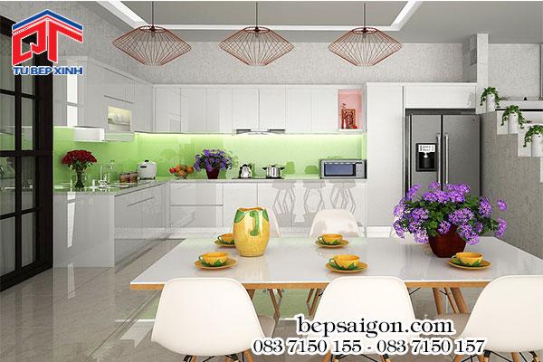 thiết kế nội thất, tủ bếp, tủ bếp đẹp, nhà bếp đẹp,