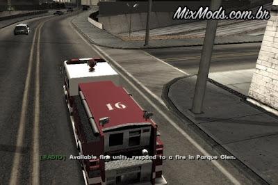missões de bombeiro gta sa