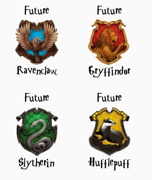 Harry Potter Future House Printables