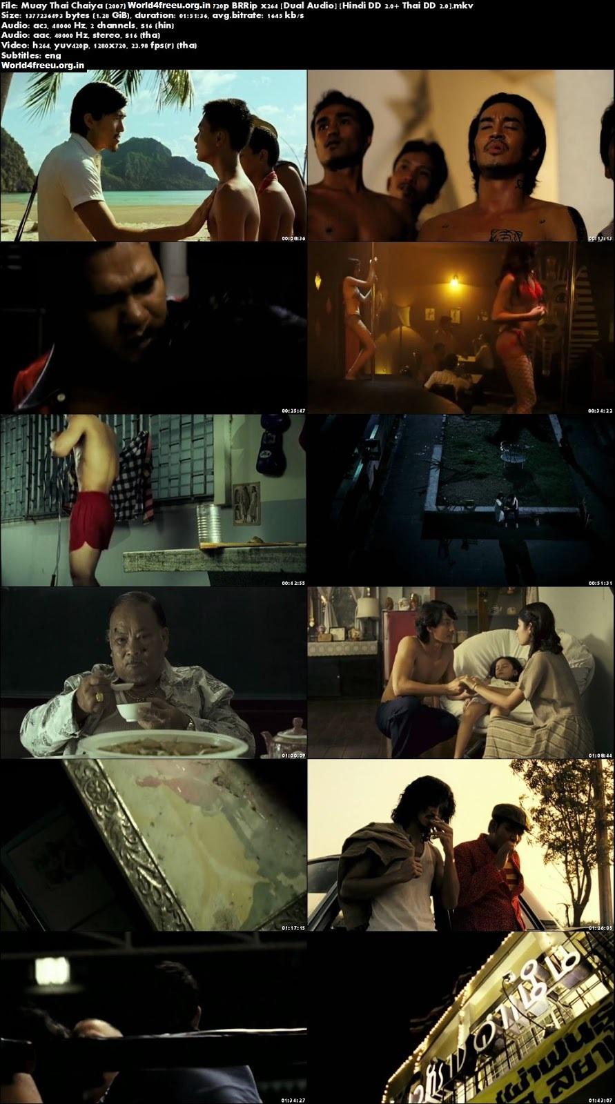Muay Thai Chaiya 2007 Hollywood Dual Audio Hindi BRRip 720p khatrimaza
