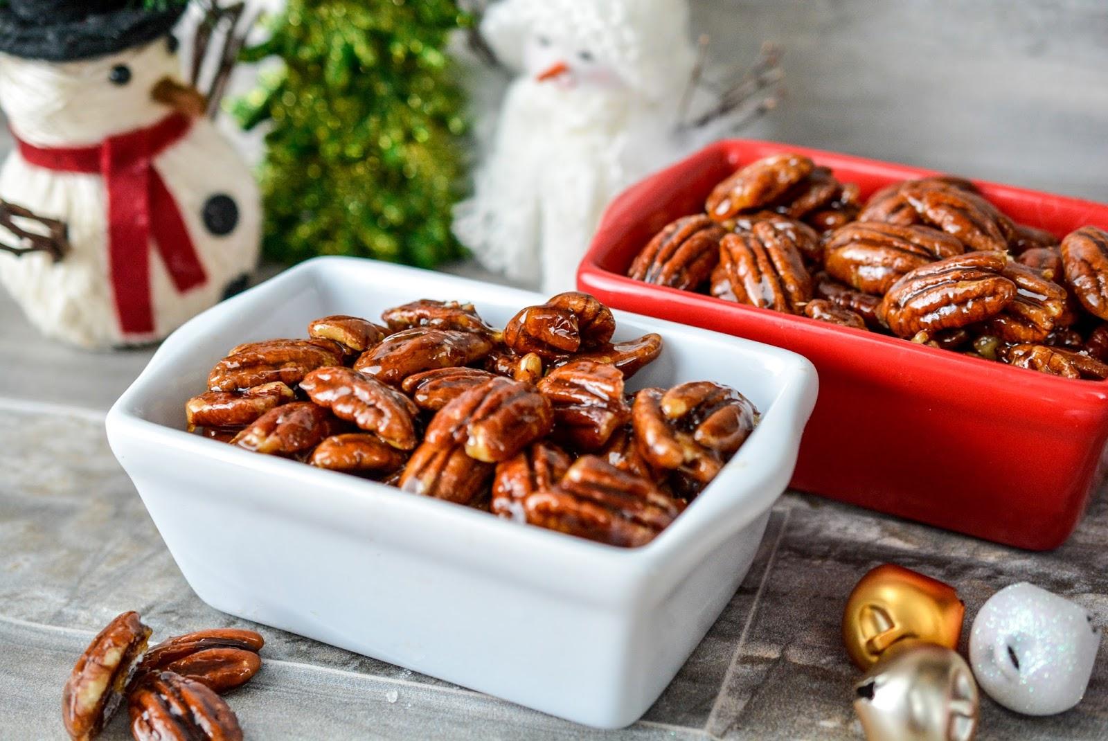 how to make glazed pecans
