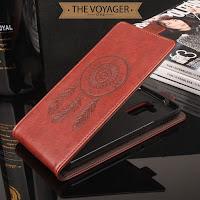 Casing flip case cover lucu unik Asus Zenfone 3 Max ZC520TL leather case casing kulit vintage original mewah elegan premium