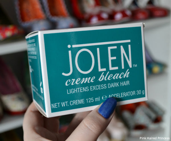 Pink Haired Princess Review Jolen Creme Bleach