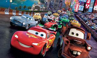 la gran carrera de cars