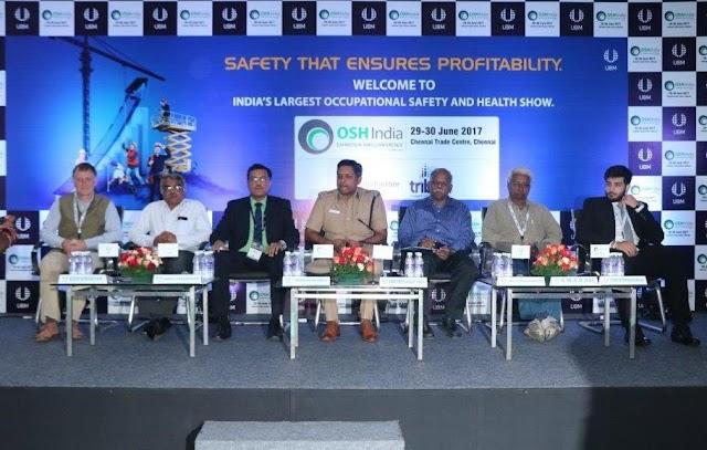 OSH Chennai & SAFE South India commences Expos organized by UBM India