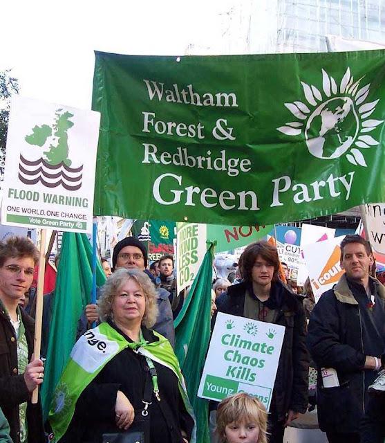 Partido Verde, Inglaterra