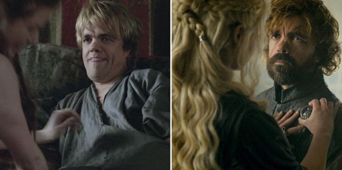 the game of thrones cast back in the day and today damn