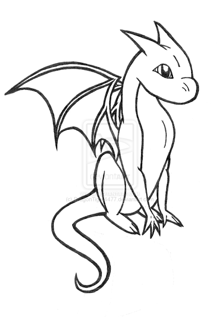 Dragon  Dragon Coloring Pages For Adults