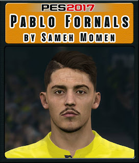 PES 2017 Faces Pablo Fornals by Sameh Momen
