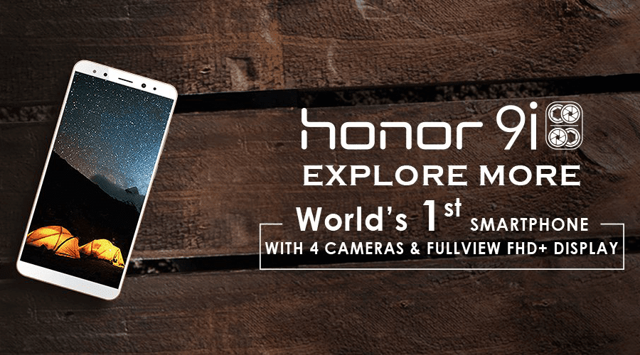 Huawei Announces Honor 9i In India