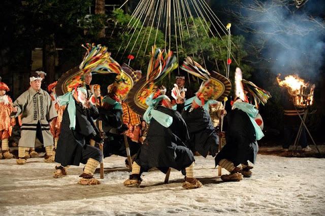 Hachinohe Enburi (Dancing and praying), Hachinohe, Aomori