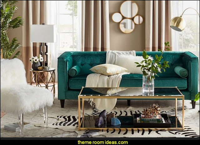 old hollywood living room decorating theme bedrooms maries manor glam 16276