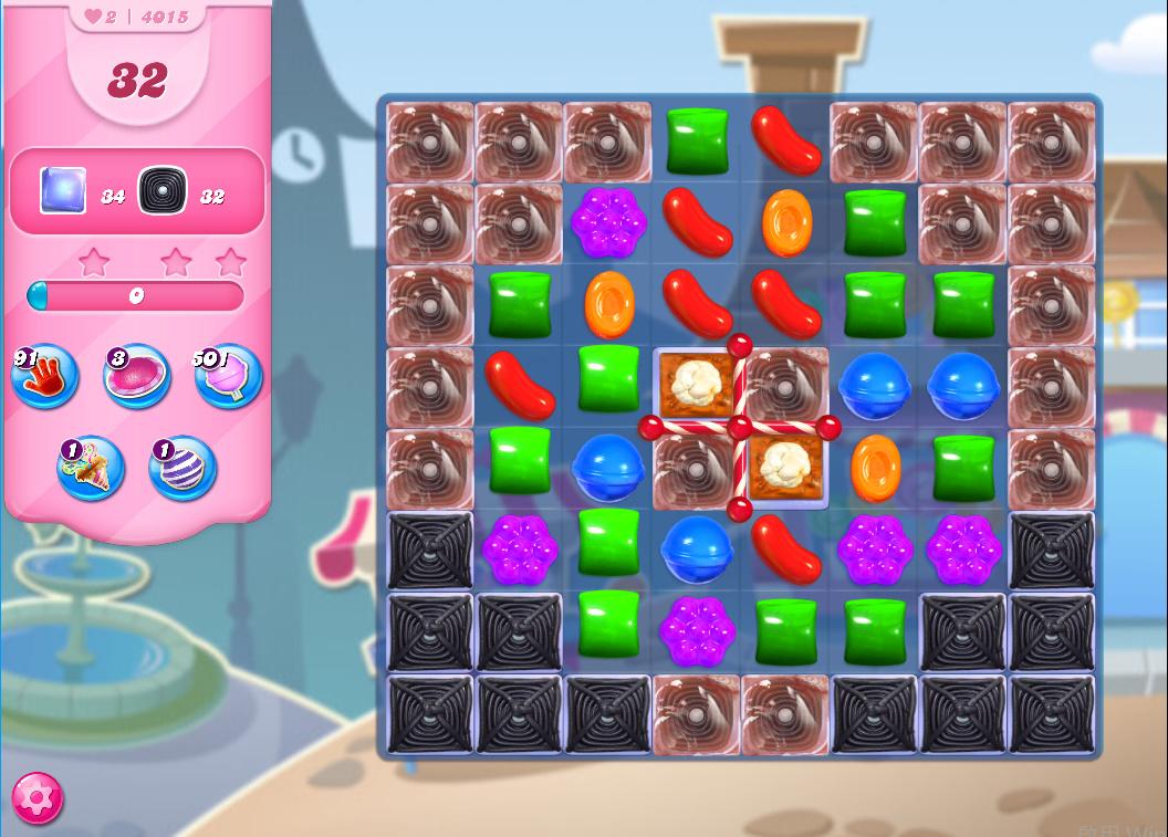 Candy Crush Saga level 4015