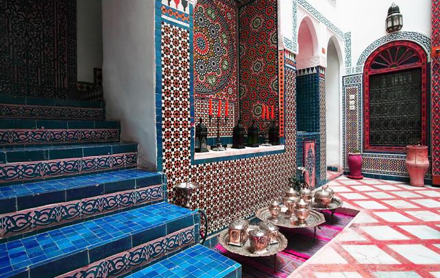 The Moroccan interior design style