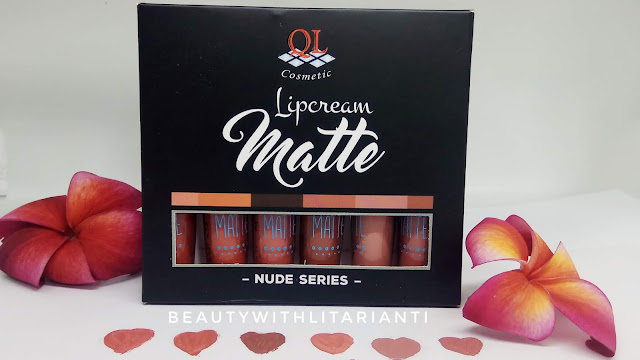 [REVIEW] QL Cosmetic Lipcream Matte Nude Series