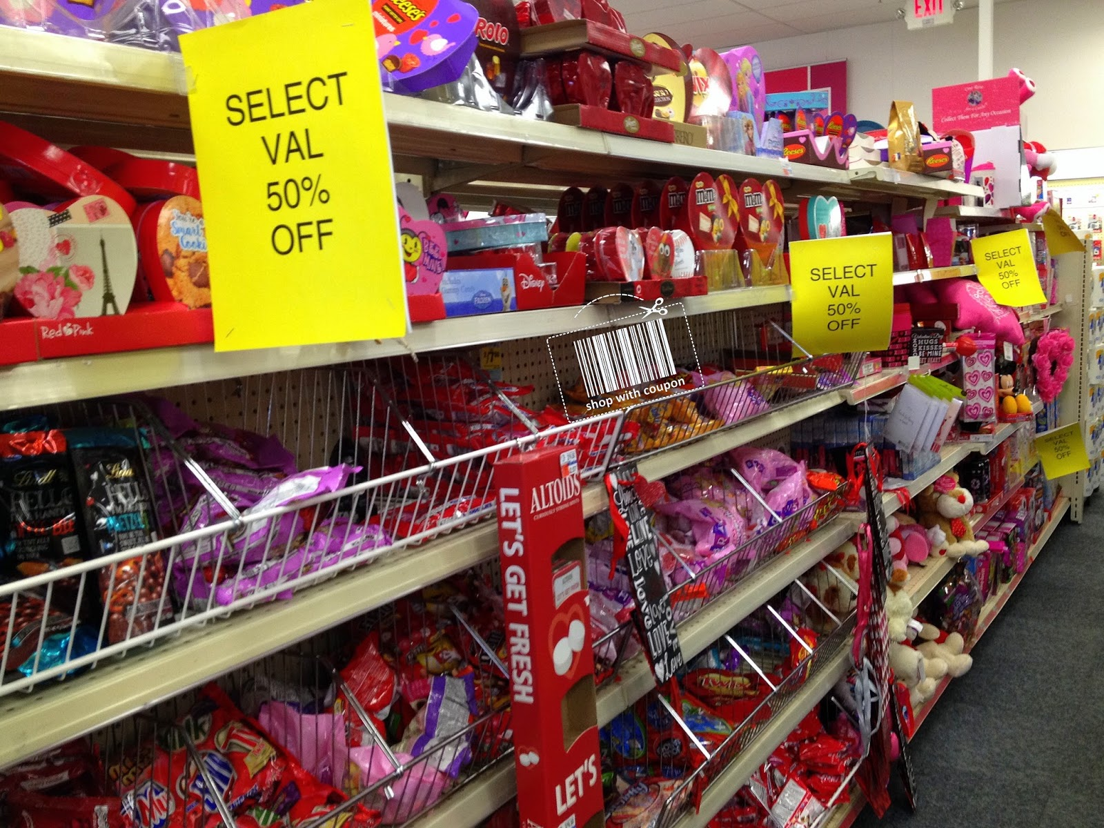 Cvs Clearance Save 50 On Select Valentine Items