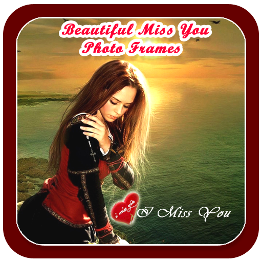 beautiful miss you photo frame app free download link