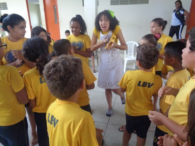 LBV: Dia Internacional do Livro Infantil é celebrado pelas crianças da LBV na Paraíba.