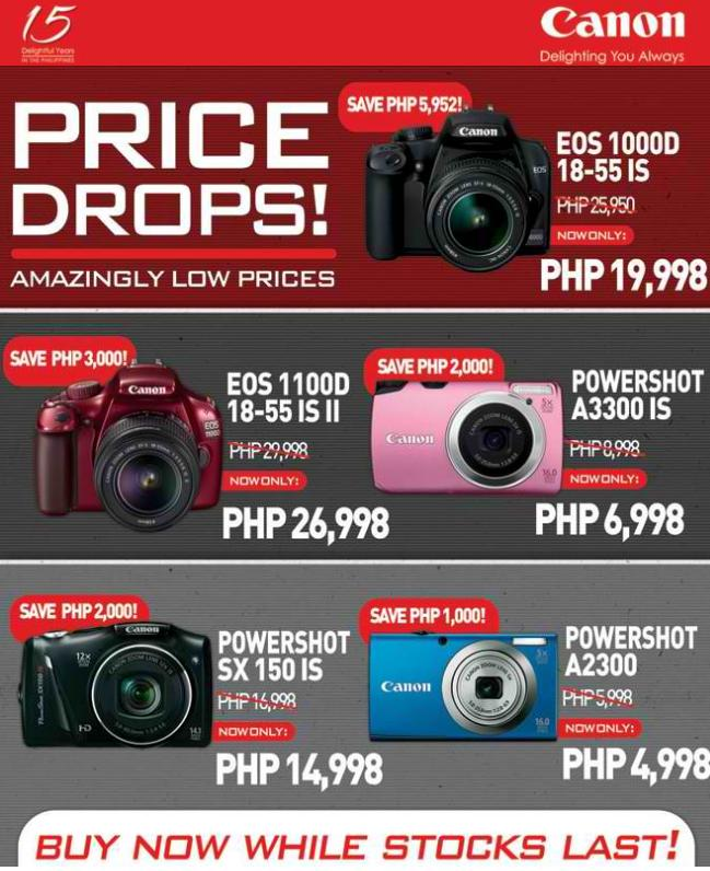 Latest Canon Digital Camera Sale Up To 22 OFF