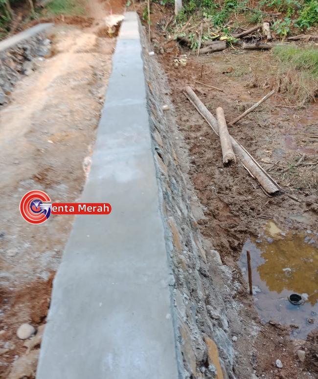 Rabat Beton dan Siring Pasang Jadi Prioritas Pelaksanaan DD Tanjung Waras