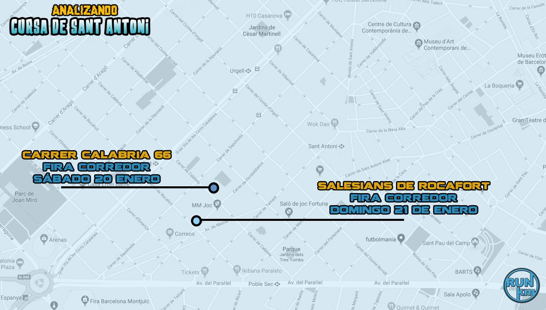 Feria del corredor Cursa de Sant Antoni 2017