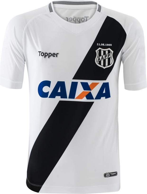 bcaf88c1a7 Topper apresenta as novas camisas da Ponte Preta - Show de Camisas