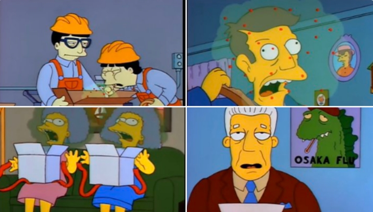 [Video] Los Simpsons predijeron brote de coronavirus