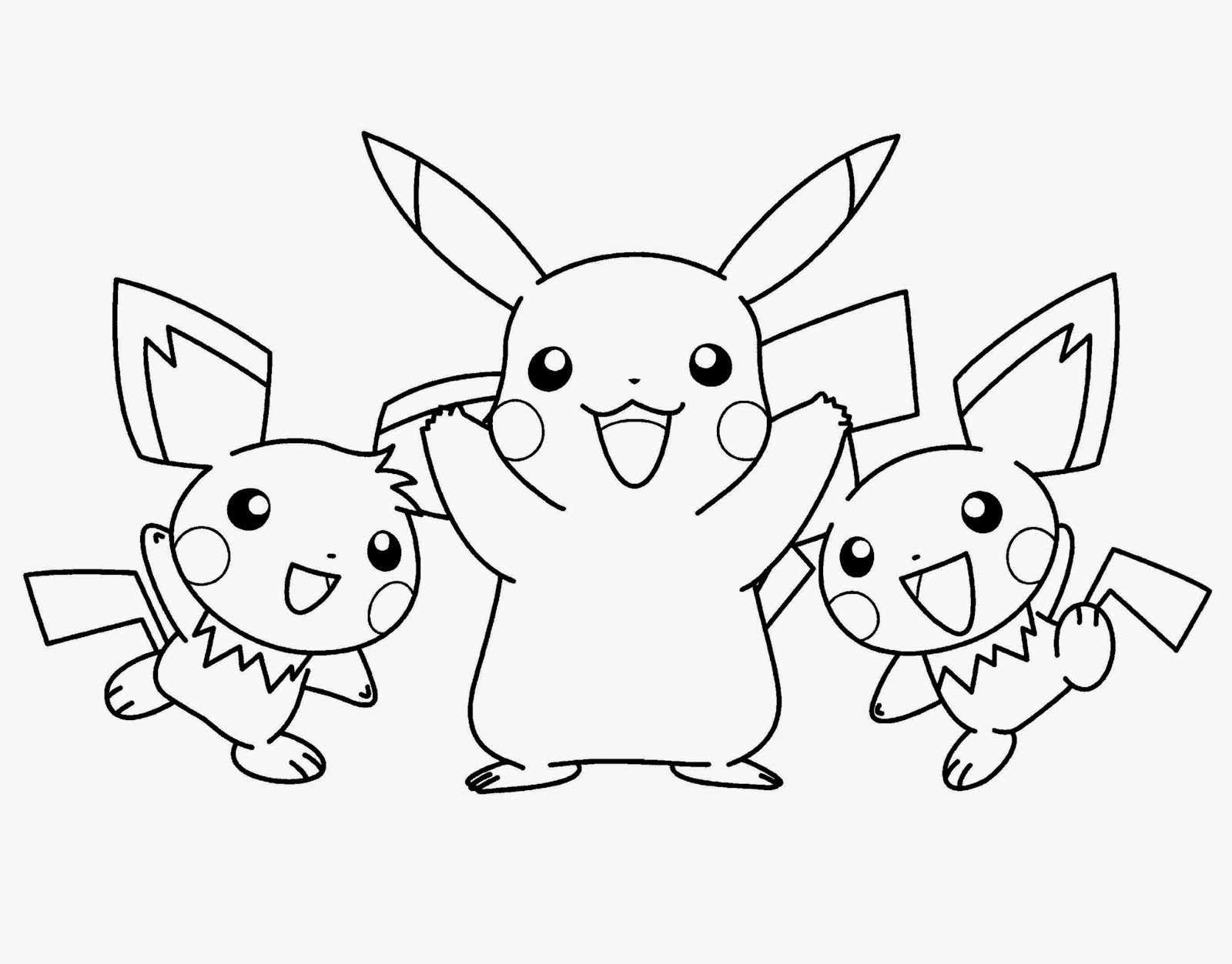 Pokemon Coloring Sheets | Free Coloring Sheet