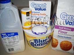 масло сливочное - 1 ст.л; яйцо - 1 шт; сода - на кончике ножа; соль - 1/4 ч.л;