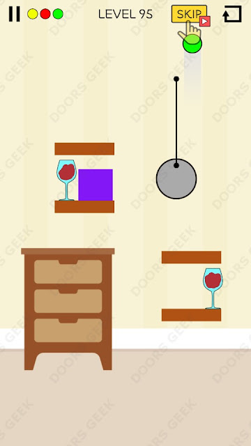 Spill It! Level 95 Walkthrough, Solution, Cheats for Android, iPhone, iPad and iPod