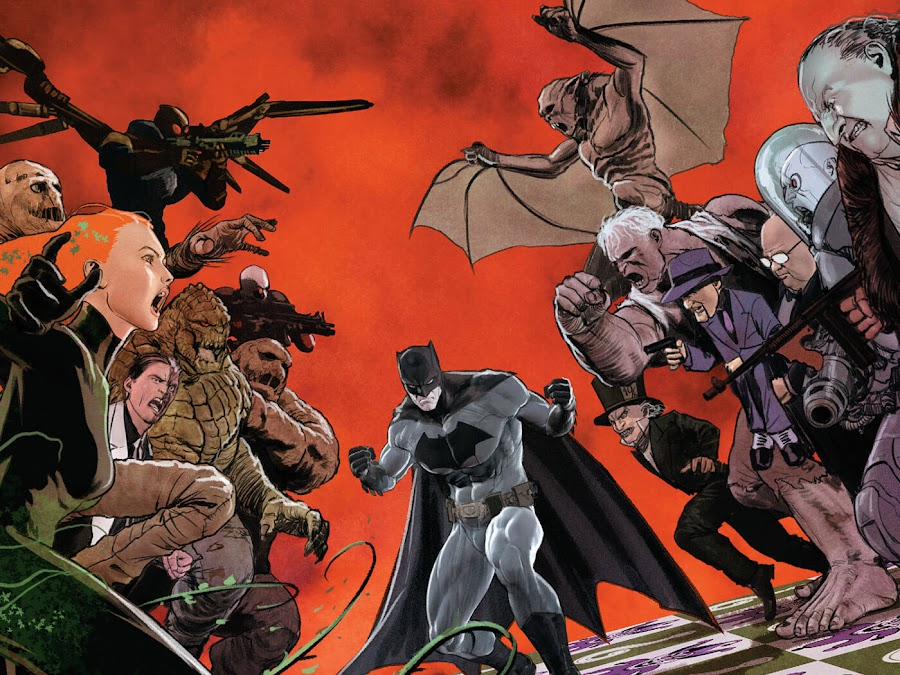 batman rogues gallery dc rebirth